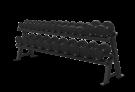 Varsity Series 2-tier Hex Dumbbell Rack VY-D697