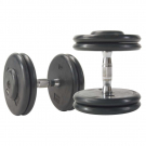 Rubber Pro-Style Dumbbell - Various