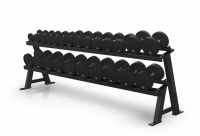 Varsity Series 2-tier Hex Dumbbell Rack VY-D697