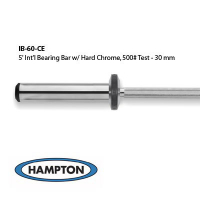 5' International Bronze Bushing Bar with Hard Chrome Finish. 500# Test - 30 mm