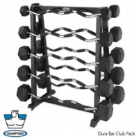 Dura-Bar Fixed Barbells Club Pack