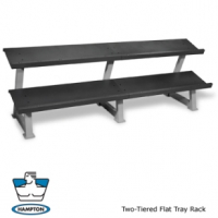Hampton Fitness - Flat Tray Racks