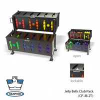 Hampton Fitness - Jelly Bells Bin Rack