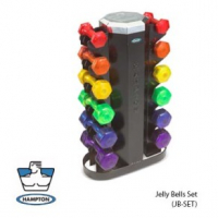 Jelly Bells Urethane Coated Dumbbell
