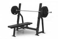 Varsity Series Olympic Flat Bench VY-D78