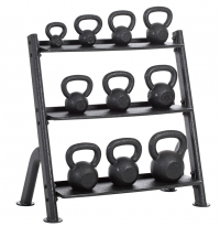 Outdoor Kettlebells and Rack