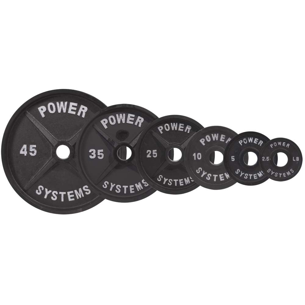 Pro Olympic Plate (Black) - Various
