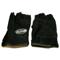 Mesh/Leather Gloves - Assorted