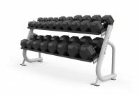 Magnum Series 2-tier Flat-tray Dumbbell Rack  MG-A697