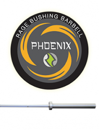 RAGE BUSHING PHOENIX BARBELL - MEN'S