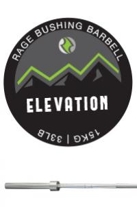 RAGE BUSHING ELEVATION BARBELL - WOMEN'S