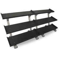 "109"" 3-Tier Dumbbell Rack System"