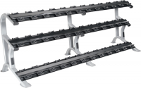 ETS 3-Tier Dumbell Saddle Rack (holds 18 pairs)