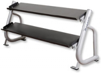 YORK Flat Shelf Dumbbell Rack