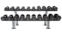 10-PAIR DUMBELL RACK WITH SADDLES