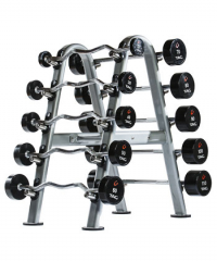 10-SET GRAPHITE BARBELL RACK