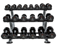 3-TIER HORIZONTAL DUMBBELL  SADDLE RACK