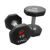 8 SIDED PREMIUM ULTRATHANE DUMBBELL