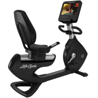 Elevation Series Lifecycle® Recumbent Exercise Bike - Discover SE3 HD Console