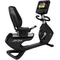 Elevation Series Lifecycle® Recumbent Exercise Bike - ST Console