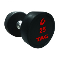 ROUND RUBBER DUMBBELLS SET