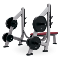 Signature Series Olympic Bench Weight Storage