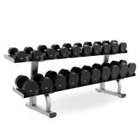 Two Tier Dumbbell Rack Signature Series