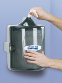 Athletix Wall Mounted Gym Wipe Dispenser