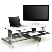 InMovement Standing Desk (White)