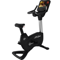 Elevation Series Lifecycle® Upright Exercise Bike - Discover SE3 HD Console