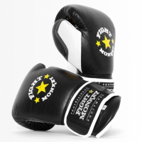 Fight Monkey Professional Series 12oz Leather Gloves