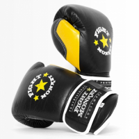 Fight Monkey Professional Series 14oz Leather Gloves