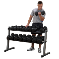 Body-Solid Pro Dumbbell Rack - GDR60