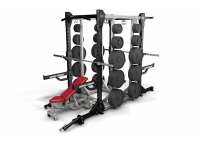 HD Elite Rack  - Half Rack Available in 8 & 9 feet