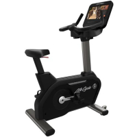 Integrity Series Lifecycle® Upright Exercise Bike - Discover SE3 HD Console