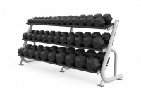 Magnum Series 3-tier Flat-tray Dumbbell Rack MG-A688