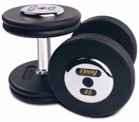 TROY Pro Style Dumbbells - Black 5-50lbs