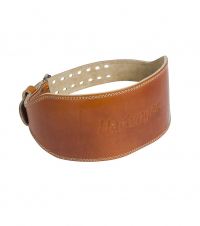 6″ Classic Oiled Leather Weightlifting Belt