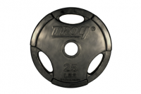 GO-VR Rubber Grip Plate - 25lbs