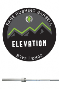 RAGE BUSHING ELEVATION BARBELL - MEN'S