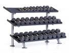 3-Tier Tray Dumbbell Rack PPF-754T