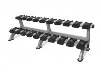 Instinct® Double Dumbbell Rack Model 9NP-R8010 (10-PAIR/2-TIER)