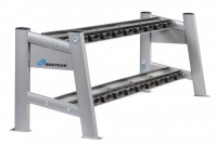 Nautilus® Free Weights Two-Tier Dumbbell Rack F32TDR