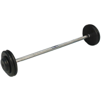 Rubber Fixed Barbell - Various