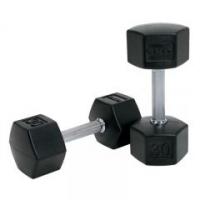 SDS Rubber HEX Dumbbells (55 - 100 lbs)